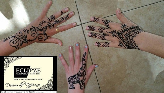Mehndi Tattoos For Arms : Hair design and day spa henna tattoos mehendi brides
