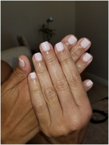 short-nails-with-gel-polish by Shona